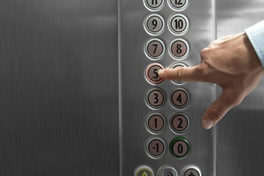 Commercial building elevator